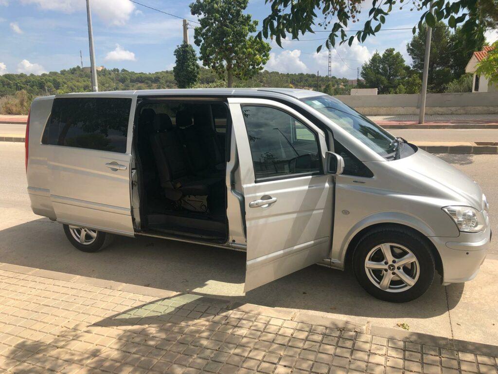 Mercedes Vito Airport Transfer